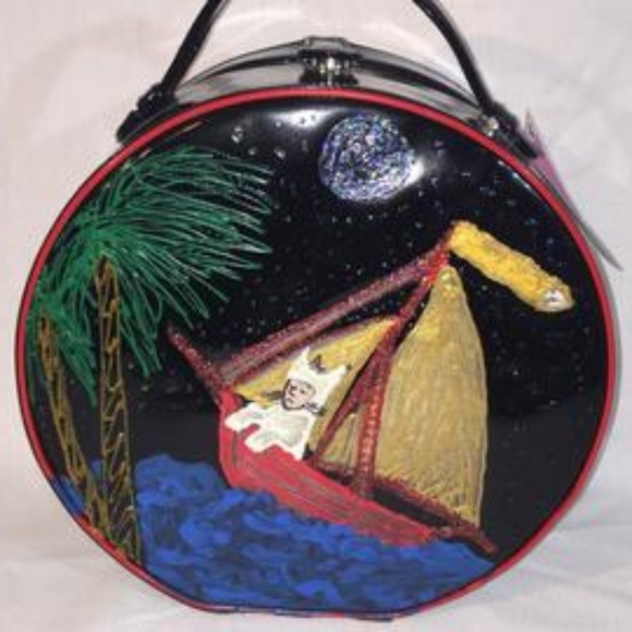 OGT Couture Handbags - Where The Wild Things Are Max Black Purse Bag OOAK